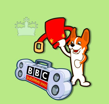 BBC Radio One – Jubilee Illustration