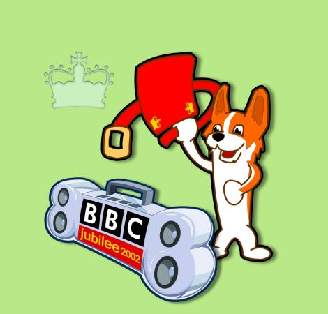 BBC Radio One – Jubilee Illustration