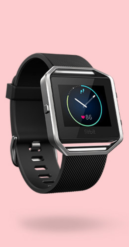 FitBit – Animated + Interactive Web Skins
